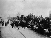 Mobilisation of Serbia's army in 1914