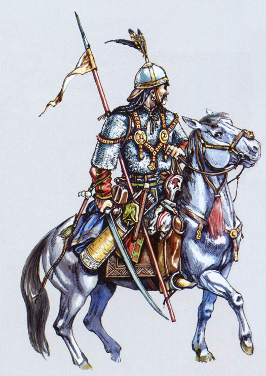 Kipchak mounted warrior