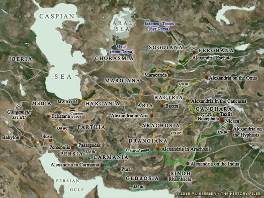 Kingdoms Of South Asia Gandhara Paropamisadae Kabul
