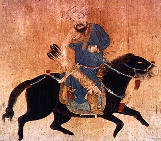 Mongol horse warrior