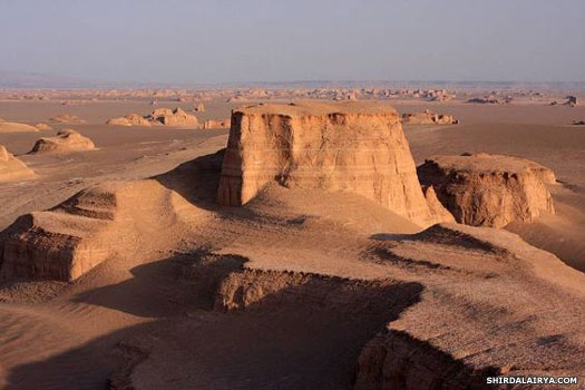 Dasht-e Lut desert in Carmania