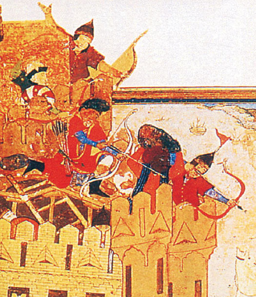 Timurid troops