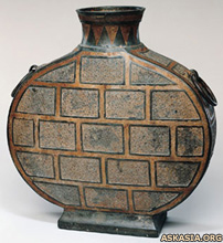 Eastern Zhou period flask