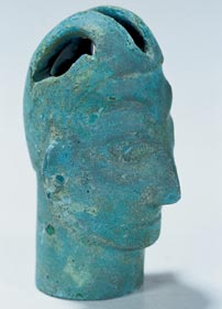 Jinsha culture bronze head
