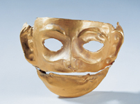 Jinsha culture face mask