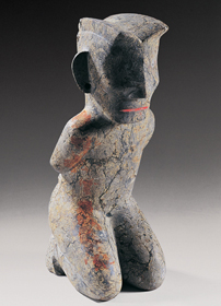 Jinsha culture stone figure