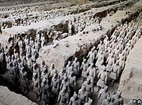 The Qin Dynasty terracotta army