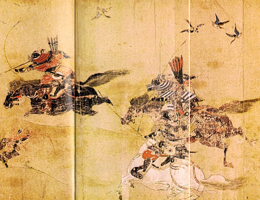 Heian period warriors in Japan