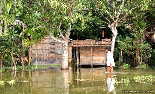Regular floods in modern Bangladesh