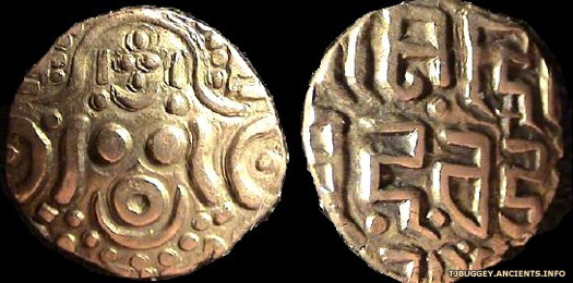Chandra dynasty coins issed by Govindachandra
