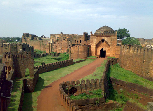 The fort of Bidar