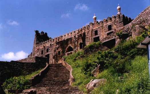 The fort of Golconda