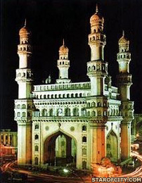 The Chaminar in Hyderabad