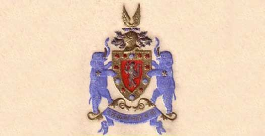 Coat of arms of the junior house of Dewas