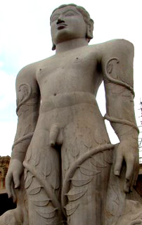 The Bahubali statue