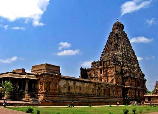 Brihadeswara temple in Tanjore