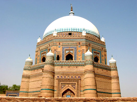 The tomb of Shah Rukh in Multan