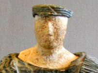 Bactrian figurine