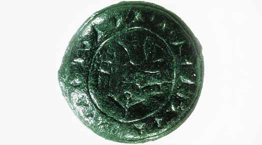 Luwian bronze seal