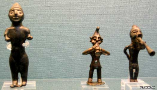 Bronze figurines from Phrygia or Caria