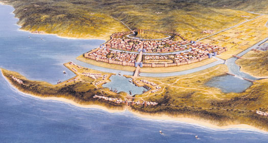Artist's impression of Troy