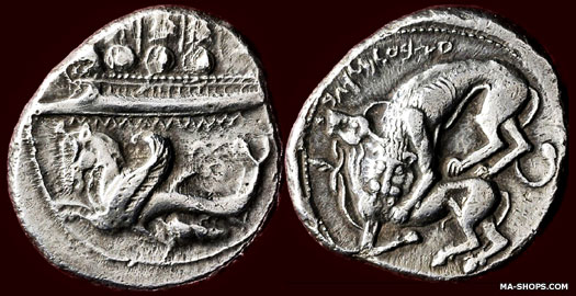 Byblos coin c.365-350 BC