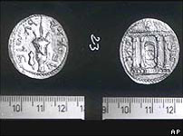 Jewish second rebellion Petra Drachma coins