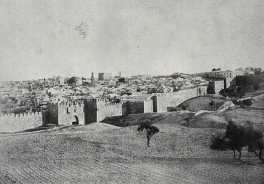Damascus Gate in 1860