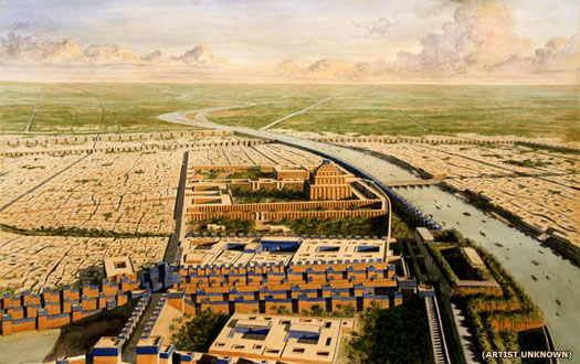 Babylon in 3D