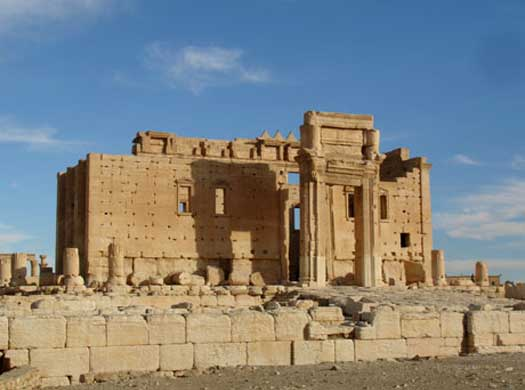 Propyleum and cella of the Temple of Bel