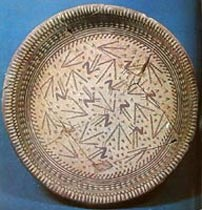 Samarra period plate from 5500 BC