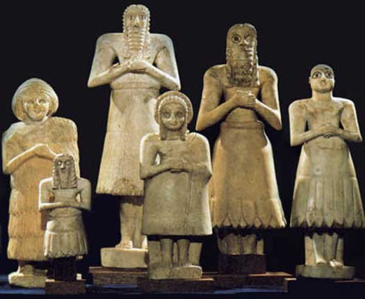 Eshnunna figurines