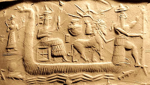 Sumerian flood tablet