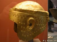 Gold helmet of Meskalamdug