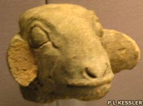 Terracotta ewe from Uruk