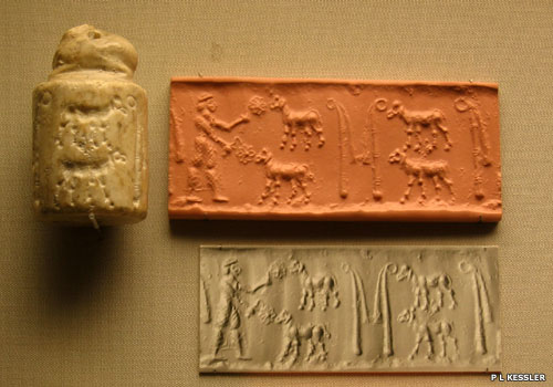 Early cuneiform samples from Uruk