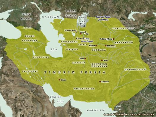 Kingdoms of Iran - Persia