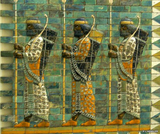 Achaemenid palace decoration at Babylon