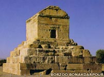 The tomb of Cyrus the Great in Pasargad