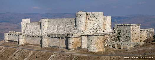 Crac Des Chevaliers at Homs